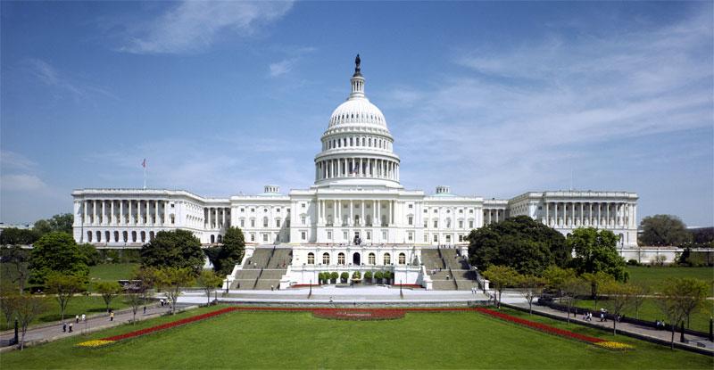 ZDA potovanje, Vzhodna obala in Kanada, Washington, Capitol
