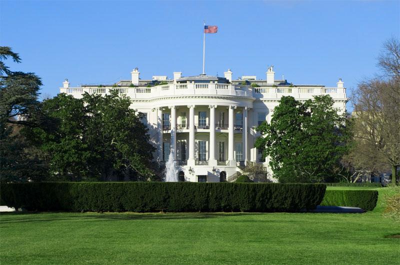 ZDA potovanje, Vzhodna obala in Kanada, Washington, Bela hiša