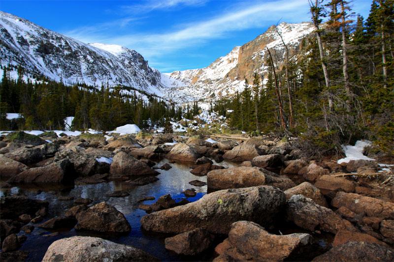 ZDA potovanje, Vzhodna obala in Kanada, White Mountains