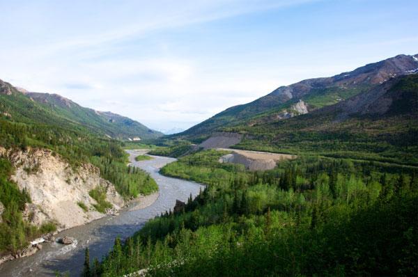 Potovanje ZDA, Aljaska, dolina Nenana