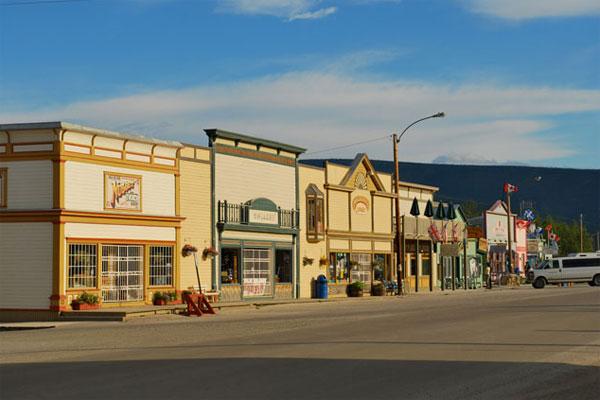 Potovanje ZDA, Aljaska, Dawson City