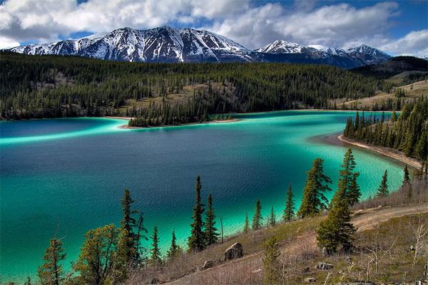 Potovanje ZDA, Aljaska, Emerald Lake