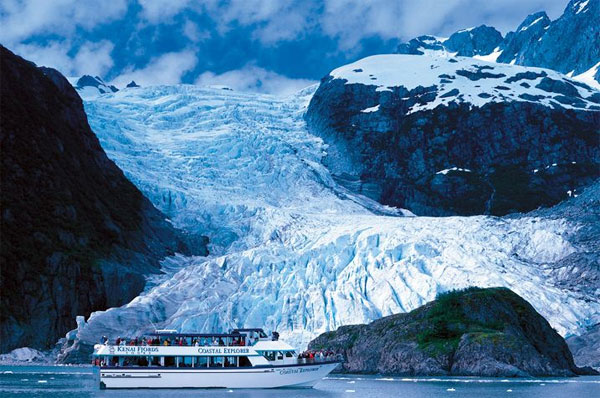 Potovanje ZDA, Aljaska, Kenai Fiords