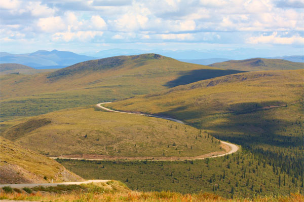 Putovanje Aljaska, Top of the World Highway