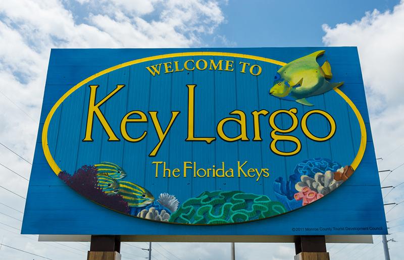 Amerika potovanje, Plaže Floride, Key Largo