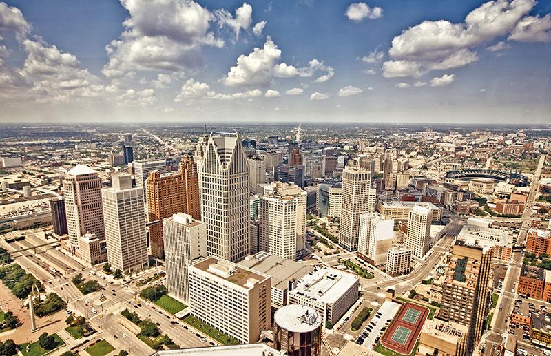 ZDA, Velika jezera, Detroit