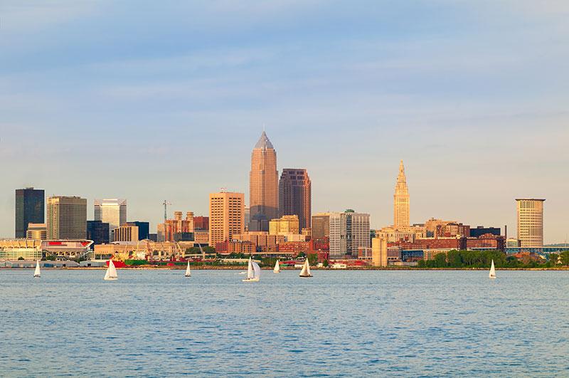 ZDA, Velika jezera, Cleveland