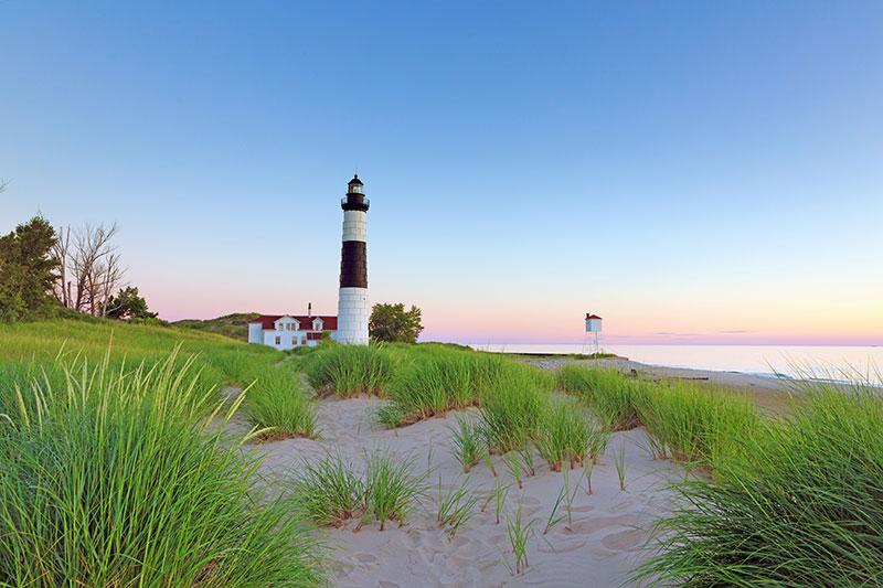 ZDA, Velika jezera, jezero Michigan