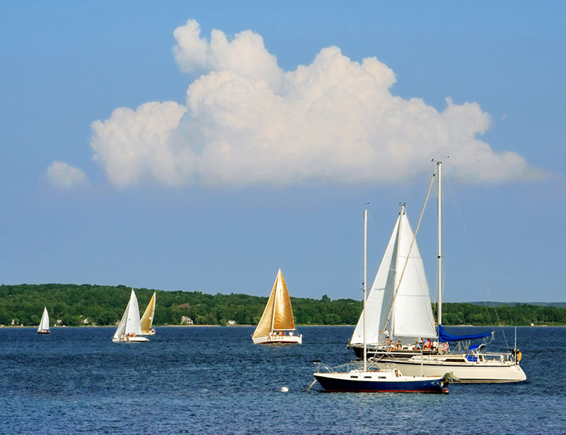 ZDA, Velika jezera, Traverse Bay