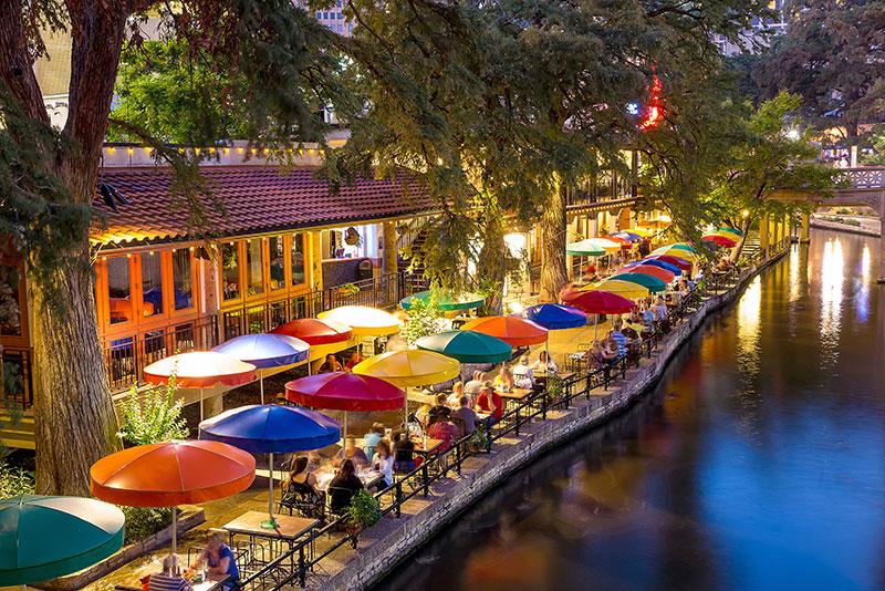 ZDA potovanje San Antonio River Walk