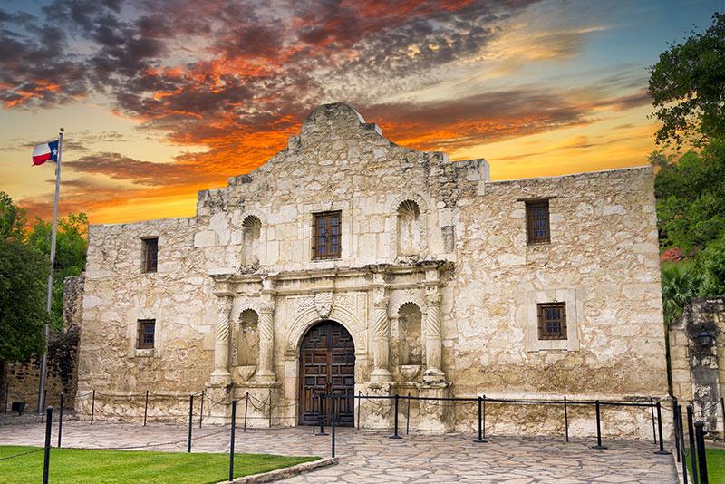 ZDA potovanje San Antonio Alamo