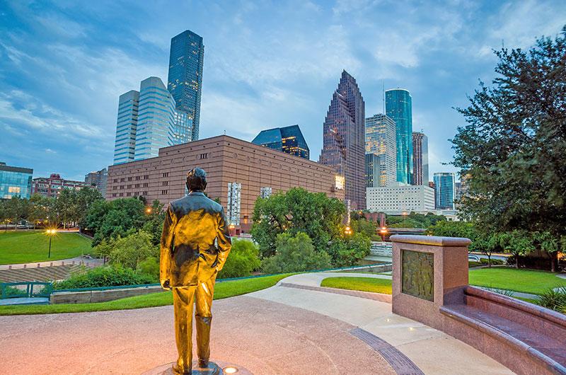 ZDA potovanje Houston