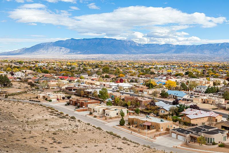 ZDA potovanje Albuquerque
