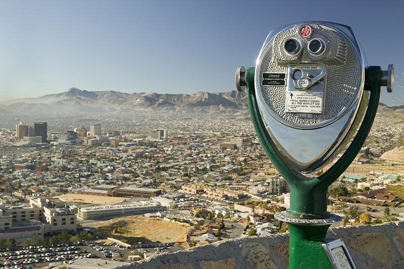 ZDA potovanje El Paso