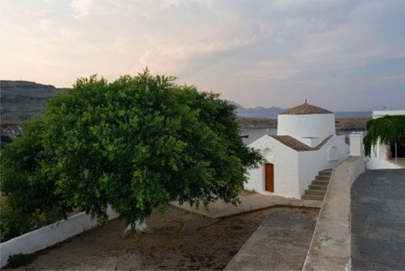 Poroka v Grčiji, Rodos, Lindos, Saint George