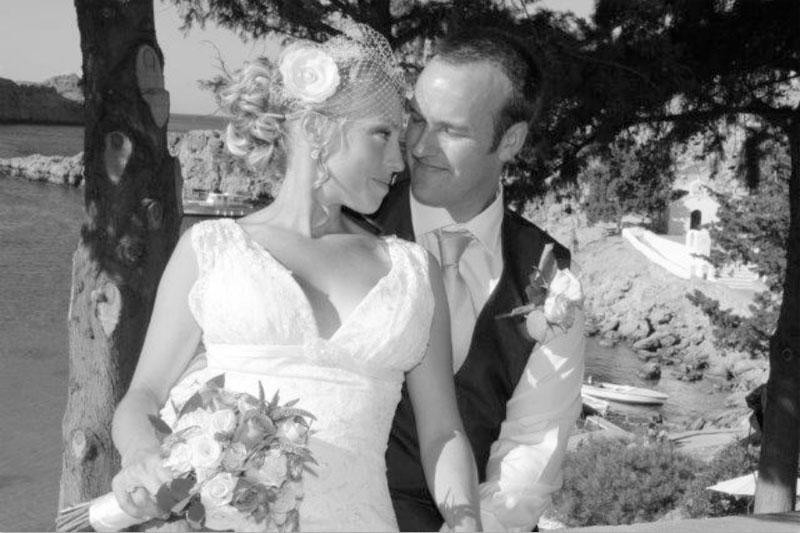 Poroka v Grčiji, Rodos, Lindos, Saint Paul