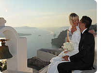 poroka Grčija, Santorini